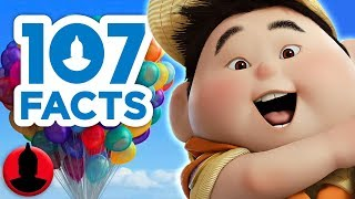 107 Facts About Pixar's Up!! - Cartoon Facts! (107 Facts S8 E6)