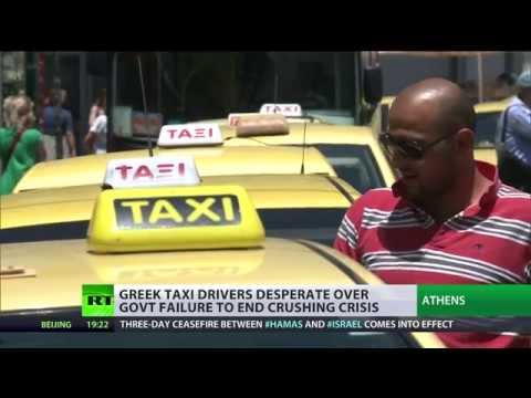 Taxing Times: Greek cabbies in dire straits amid crushing crisis
