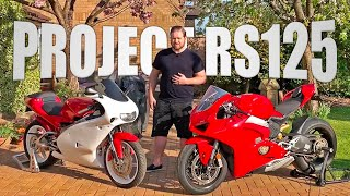 PART 1: My Lockdown Project - Rebuilding A Classic Aprilia RS125 Two Stroke 1999