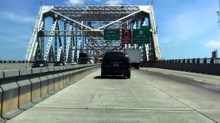 Tappan Zee Bridge South/eastbound [2013 Pre-construction Video]
