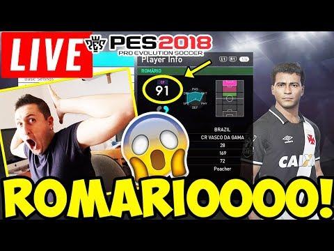ROMARIO LEGGENDA! Troviamolo in LIVE! PES 2018 Ball Opening ITA