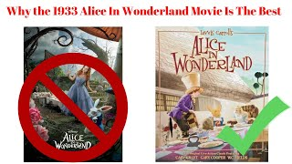 Why the 1933 Alice In Wonderland Movie is the best