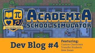 Academia : School Simulator Dev Blog 4 [SPECIAL GIVEAWAY]