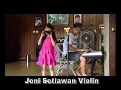 Grezia Epiphania PertolonganMu kolaborasi violin