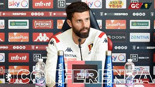 Genoa-Sampdoria | La conferenza pre match