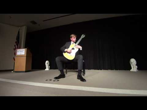 Sean McCrary classical guitar concert part two.
