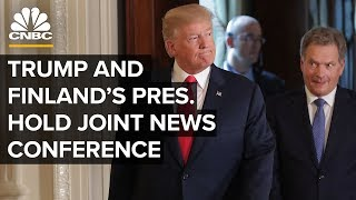 President Trump holds joint news conference with President of Finland – 10/2/2019