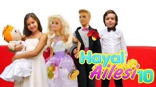 hayal ailesi 10 ocuk dizisi trke barbie ve ken dğn dğn hazırlığı oyunu