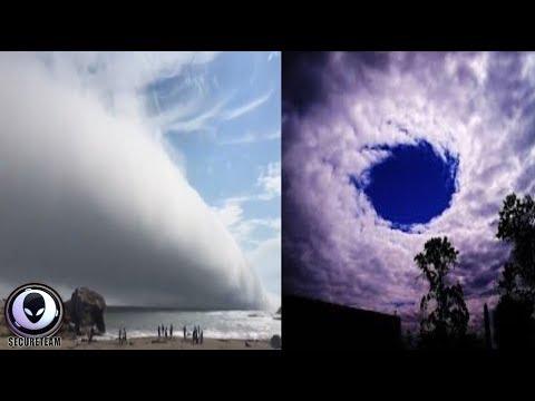 """OMINOUS """"Cloud"""" Speeds Over Stunned Onlookers 8/7/17"""