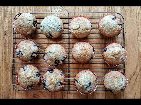 Easy Blueberry Muffins!
