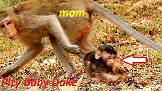 Why! Why Young Mom Duchess Doing Like This on Poor Baby Duke?   Much Pity Baby