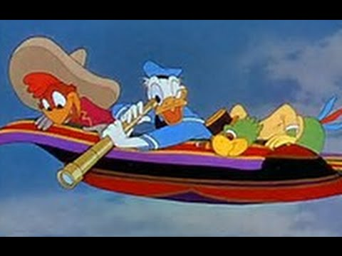 the three caballeros in english 1944