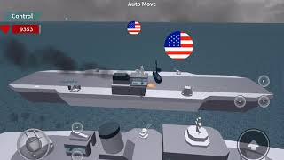 Naval battle in roblox