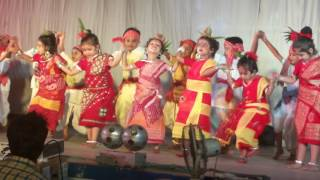 pindare polaser bon by the kids of pranavananda vidyamandir durgapur w b