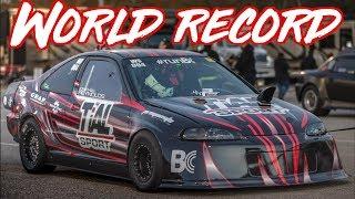 AWD Honda Civic World Record - 1300AWHP 70psi of Boost!