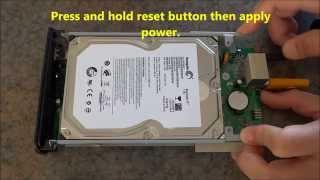 Install New Hard Drive for IOMEGA HMND CE