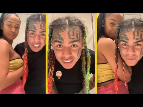 6IX9INE Laid Up With Chick Who's Suing Cardi B For Allegedly Jumping Her!