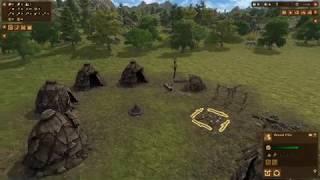 Dawn of Man - Masser af teknologi og av en Cave lion - Dansk Lets play Ep 2