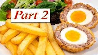 Part 2: Scotch Eggs, How to bake them