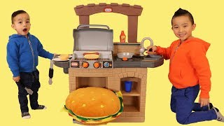 pretend play cook