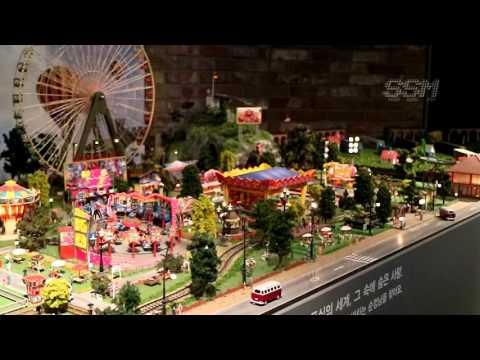 철도 디아로마 월드(Train diorama world) - KNN 월석아트홀 디오라마전용관