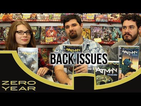 Batman's New 52 Origin   Batman: Zero Year   Back Issues