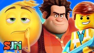 The Emoji Movie Mashes Up Lego Movie & Wreck It Ralph