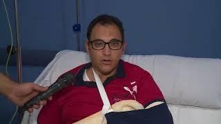 زيارة السيد محمود توفيق وزير الداخلية للمصابين من أبطال الشرطة