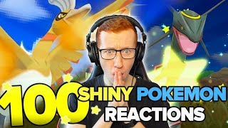 100 AMAZING SHINY POKEMON REACTIONS - Pokemon USUM & ORAS Shiny Reaction Montage!