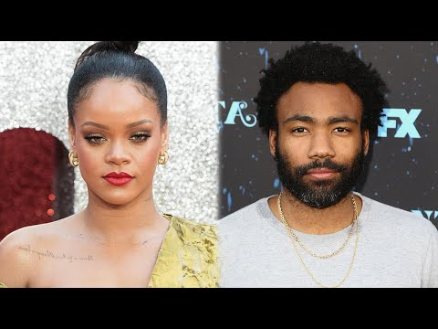 Rihanna and Shirtless Donald Glover Pose Together in Mysterious Photo
