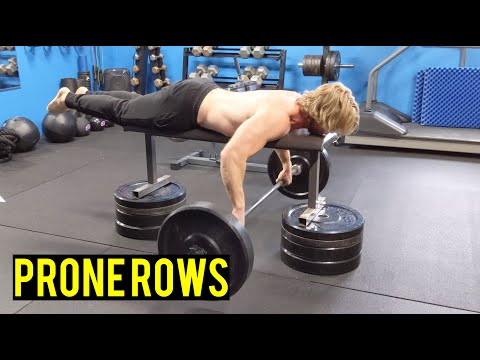 How To Perform Prone Rows | Little Known Best Back Exercise