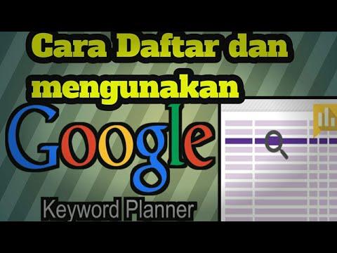 Cara Jitu Mencari Riset Keyword dengan Google Keyword Planner.