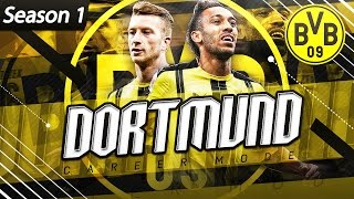 FIFA 17 Borussia Dortmund Career Mode - EP1 - Huge New Signings!! Lacazette To Dortmund?!