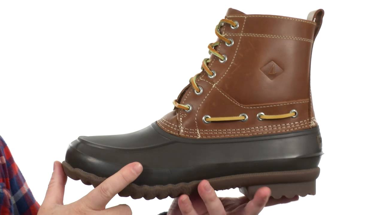 731403519 Sperry Top-Sider Decoy Boot SKU:8717298 - YouTube