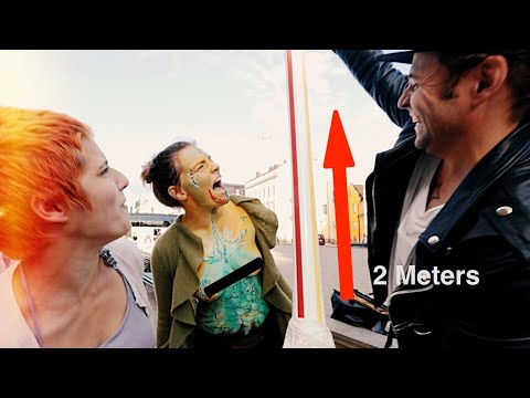 Giant Straw Prank(crashed my car)-Julien Magic