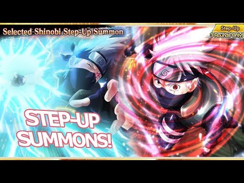 Naruto x Boruto: STEP-UP SUMMONS!!! Maneira PERFEITA de conseguir cards TOP Kakashi!!! - Omega Play