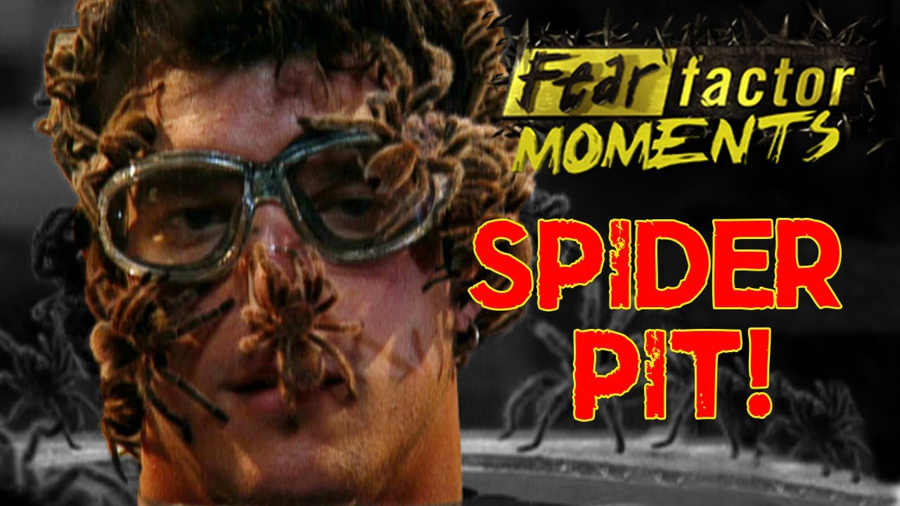 Fear Factor Moments | Tarantula Pit - YouTube