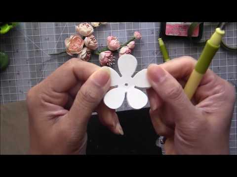 Paper Flower Making - Blooming Spray by Archana Joshi ( EK Success)