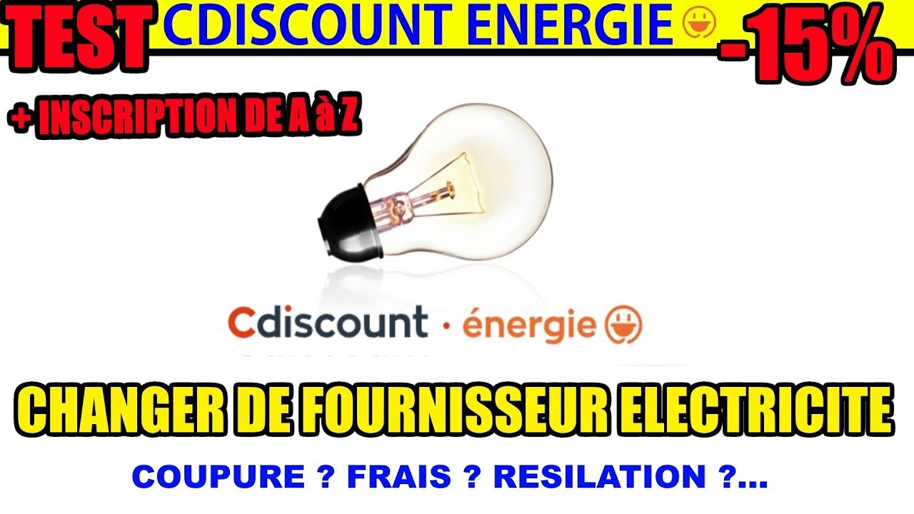 changer de fournisseur d 39 lectricit edf test cdiscount. Black Bedroom Furniture Sets. Home Design Ideas