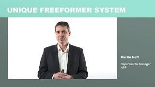 Expert presentation: freeformer