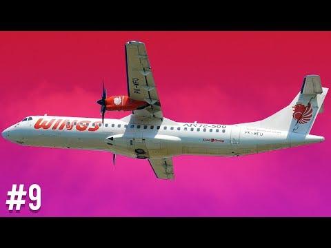 Plane Spotting at Kualanamu International Airport - 15 Wings Air ATR-72 Aircraft #9