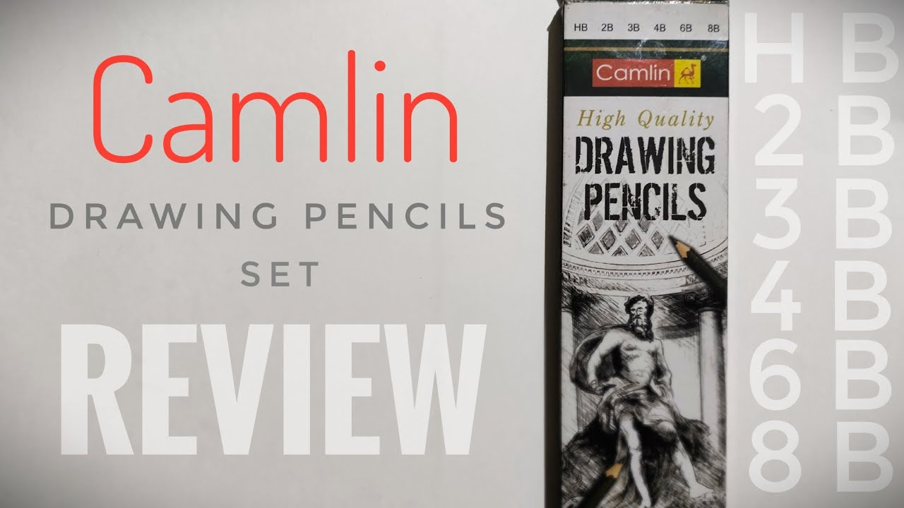Camlin Drawing Pencils Set ( Review) - YouTube