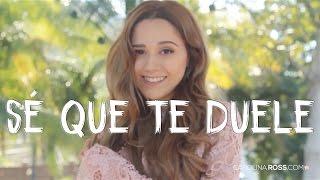 Sé que te duele - Alejandro Fernández ft. Morat (Carolina Ross cover)