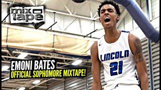 Emoni Bates OFFICIAL Sophomore Year Mixtape!! The BEST High School Prospect Since LeBron!?