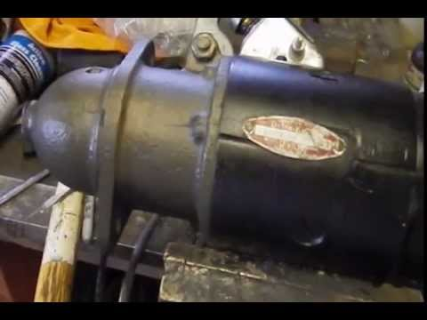 Starter switch 1957 235 6cl - YouTube