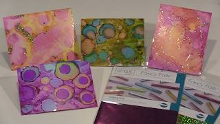 Making Magic: Alcohol Ink And Foils