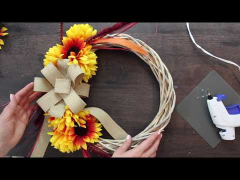 Dollar Tree DIY/Fall Wreath