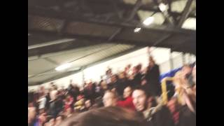 Sunderland fans singing at Tottenham away 07.04.14