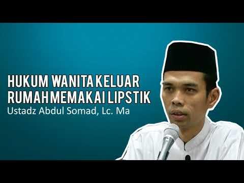 hukum-wanita-keluar-rumah-memakai-lipstik---ustadz-abdul-somad-,lc.-ma