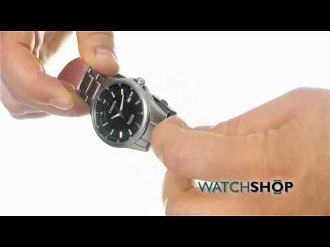 Citizen Men's Sport Ti Titanium Eco-Drive Watch (AW1490-50E)